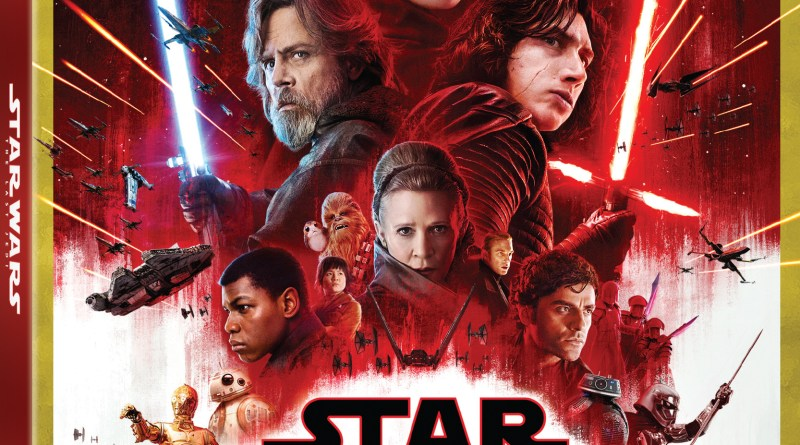 Star Wars: The Last Jedi 4K Ultra HD/Blu-Ray Combo cover (Walt Disney Studios Home Entertainment)