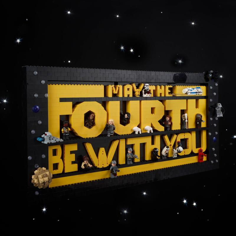 May The 4th Aka Star Wars Day LEGO Sets