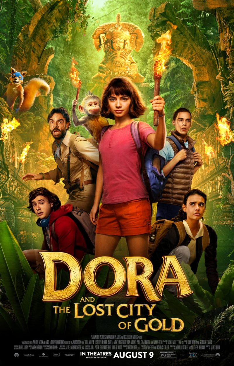 New Dora And The Lost City Of Gold Trailer   Nothing But Geek