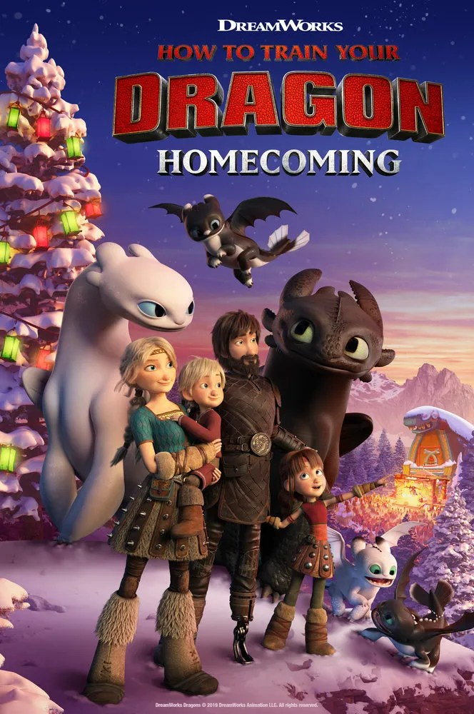 How To Train Your Dragon New Holiday Special New Toys For The Season Nothing But Geek