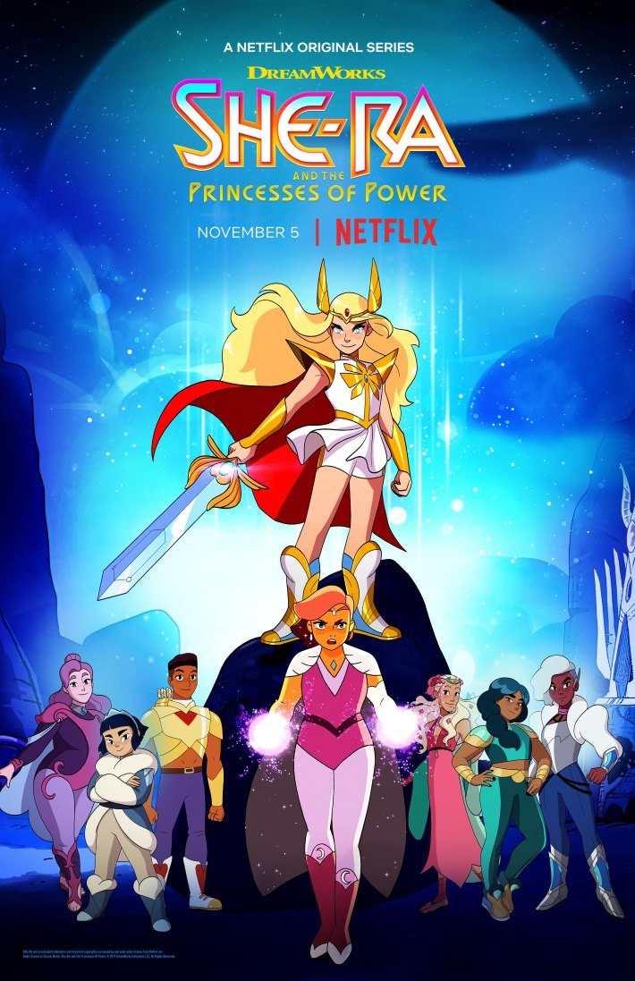 First Images of SHE-RA & THE PRINCESSES OF POWER by