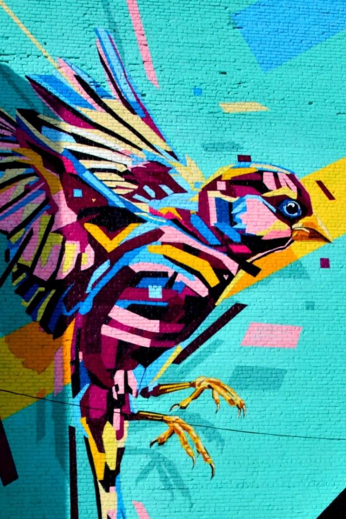 Street art festival in Worcester, MA
