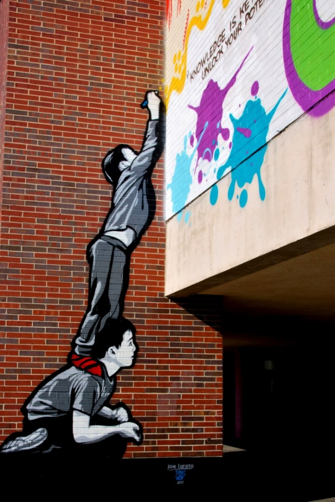 Finding incredible street art in Worcester, MA
