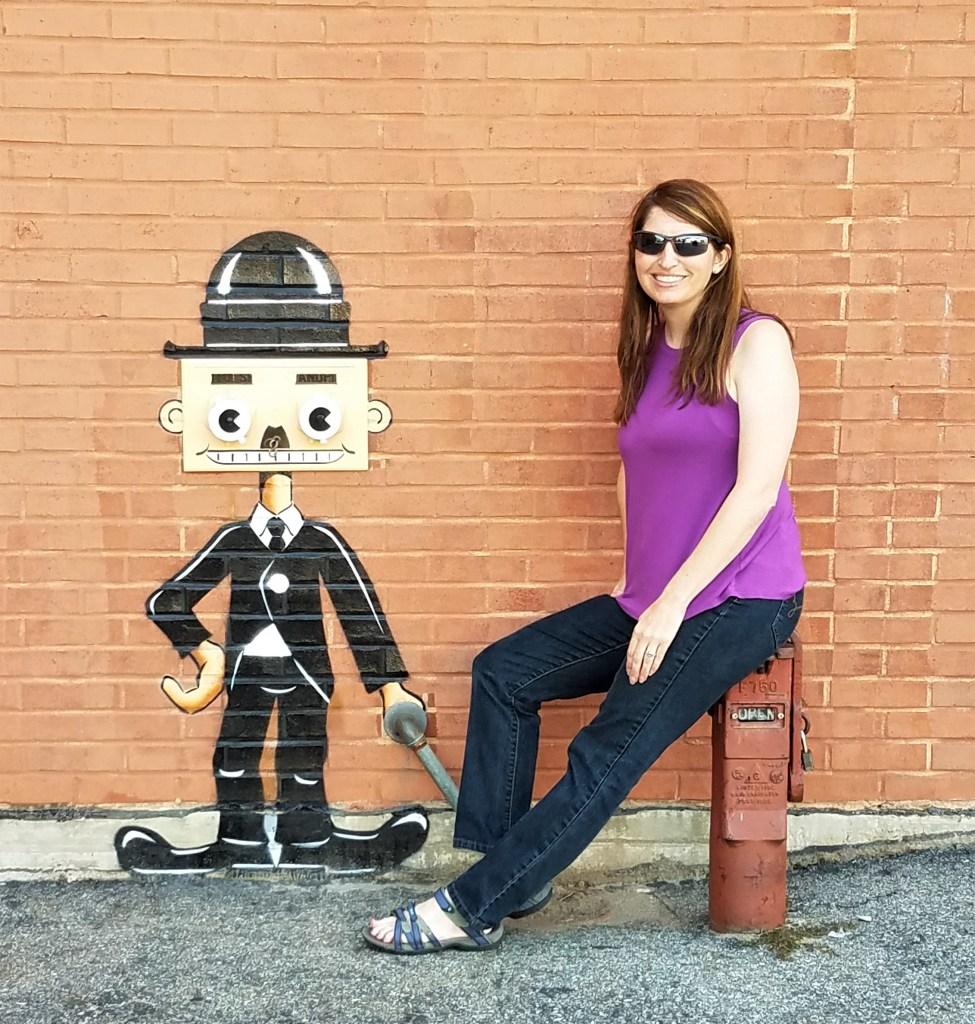 POW! WOW! Worcester street art by Tom Bob
