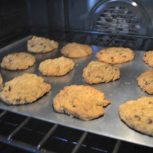 Carrot Oatmeal Chocolate Chip Cookies and Christmas Memories