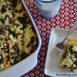 Cheesy Layered Egg Breakfast Casserole