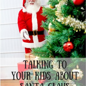 Talking To Your Kids About Santa Claus