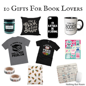 10 Gifts For Book Lovers