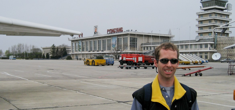 American Pyongyang airport