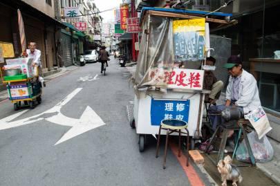 歸綏街上修鞋