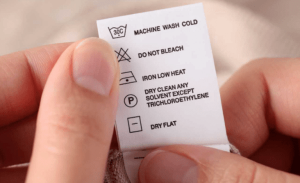 How To Read Symbols On Clothing Tags