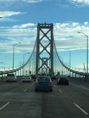 Bay Bridge - the significant other to the Golden Gate