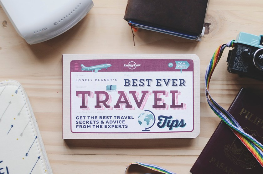 Lonely Planet Best Ever Travel Tips - Fully Booked Giveaway