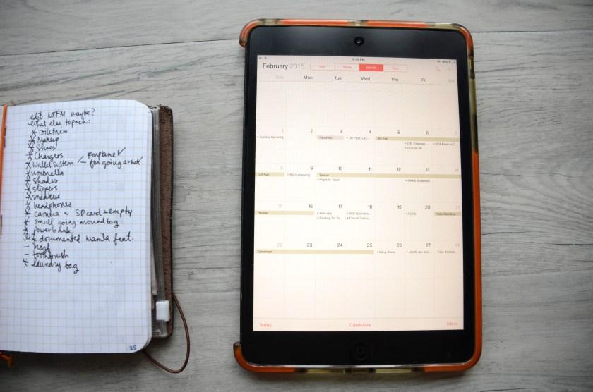 iPad Mini - Calendar