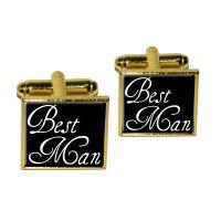 Best Man - Wedding Square Cufflink Set | eBay