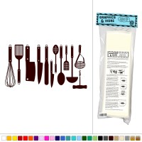 Set Of Kitchen Utensils - Vinyl Sticker Decal Wall Art ...