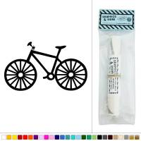 Bike Bicycle Vinyl Sticker Decal Wall Art Dcor