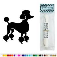 French Poodle Vinyl Sticker Decal Wall Art Dcor | eBay