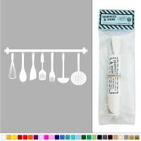Hanging Kitchen Utensils Vinyl Sticker Decal Wall Art ...