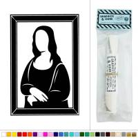 Mona Lisa Vinyl Sticker Decal Wall Art Dcor