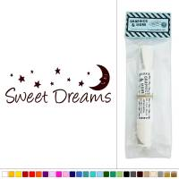 Sweet Dreams Vinyl Sticker Decal Wall Art Dcor | eBay
