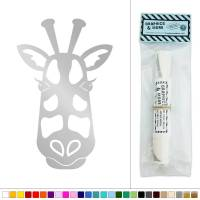 Giraffe Face Tribal Vinyl Sticker Decal Wall Art Dcor | eBay