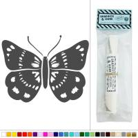 Butterfly Flying Insect Vinyl Sticker Decal Wall Art Dcor