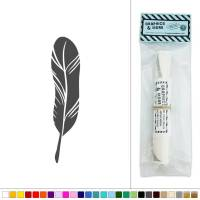 Bird Feather Fowl Vinyl Sticker Decal Wall Art Dcor | eBay