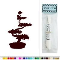 Bonsai Tree Japanese Vinyl Sticker Decal Wall Art Dcor | eBay