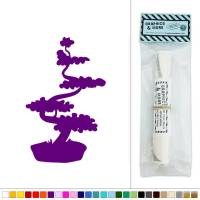 Bonsai Tree Japanese Vinyl Sticker Decal Wall Art Dcor
