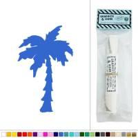 Palm Tree Silhouette Vinyl Sticker Decal Wall Art Dcor | eBay