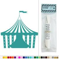 Circus Tent Big Top Carnival Vinyl Sticker Decal Wall Art ...