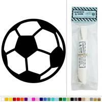 Soccer Ball Sports Football Vinyl Sticker Decal Wall Art Dcor