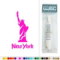New York Statue of Liberty USA Vinyl Sticker Decal Wall ...