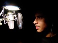 Kelvin on the mic