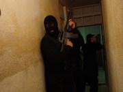 SWAT Team Enters