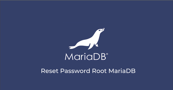 Cara Reset Password Root MariaDB