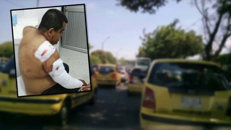 Taxista recibió 15 puñaladas en Siloé tras negarse a prestar su celular a pasajeras