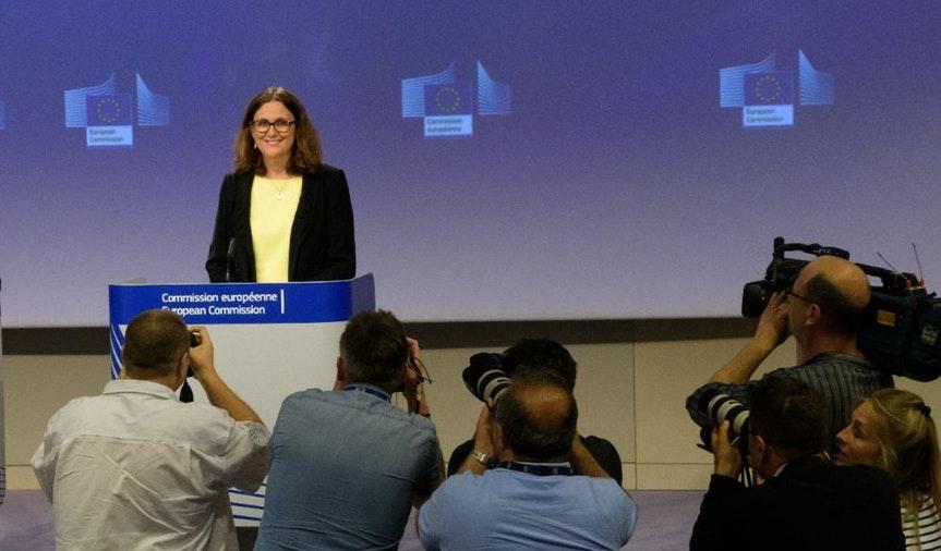 LA UE PASA AL CONTRAATAQUE ANTE LA GUERRA COMERCIAL CON ESTADOS UNIDOS por Nacho Alarcón