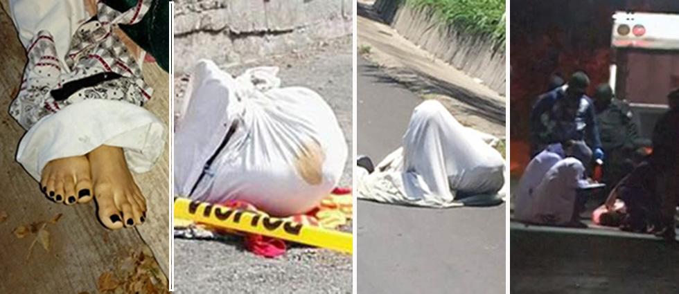 Racha de cadáveres ensabanados sacude al país este jueves