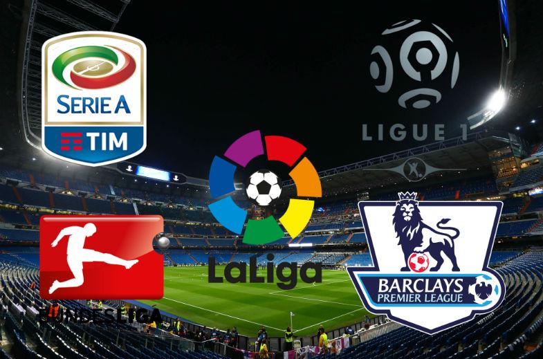 Fútbol Europeo: Mira la agenda de los partidos del fin de semana
