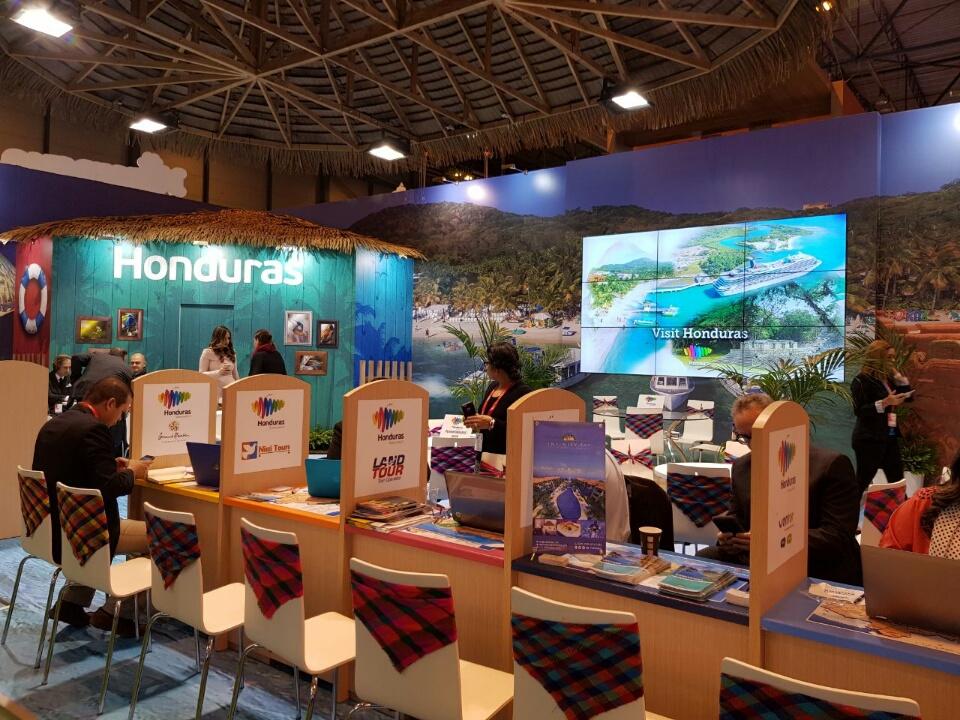 Honduras presente en trigésima octava edición de la feria de turismo en España