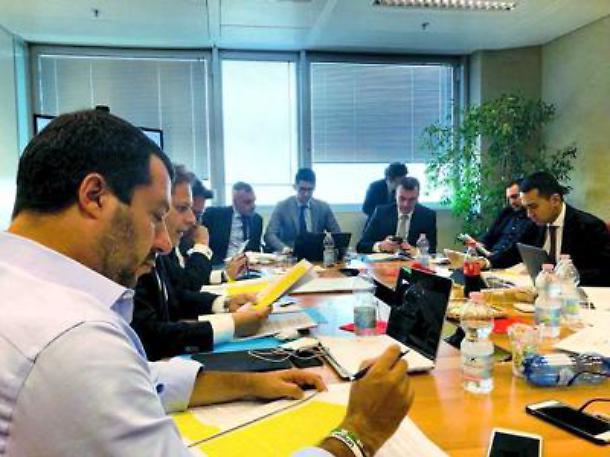 Il contratto di governo tra M5s e Lega