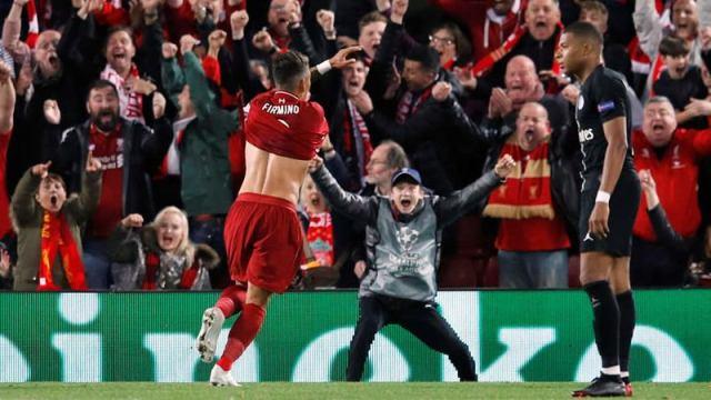 Champions League: Liverpool derrotó 3-2 al PSG y quedó líder del Grupo C