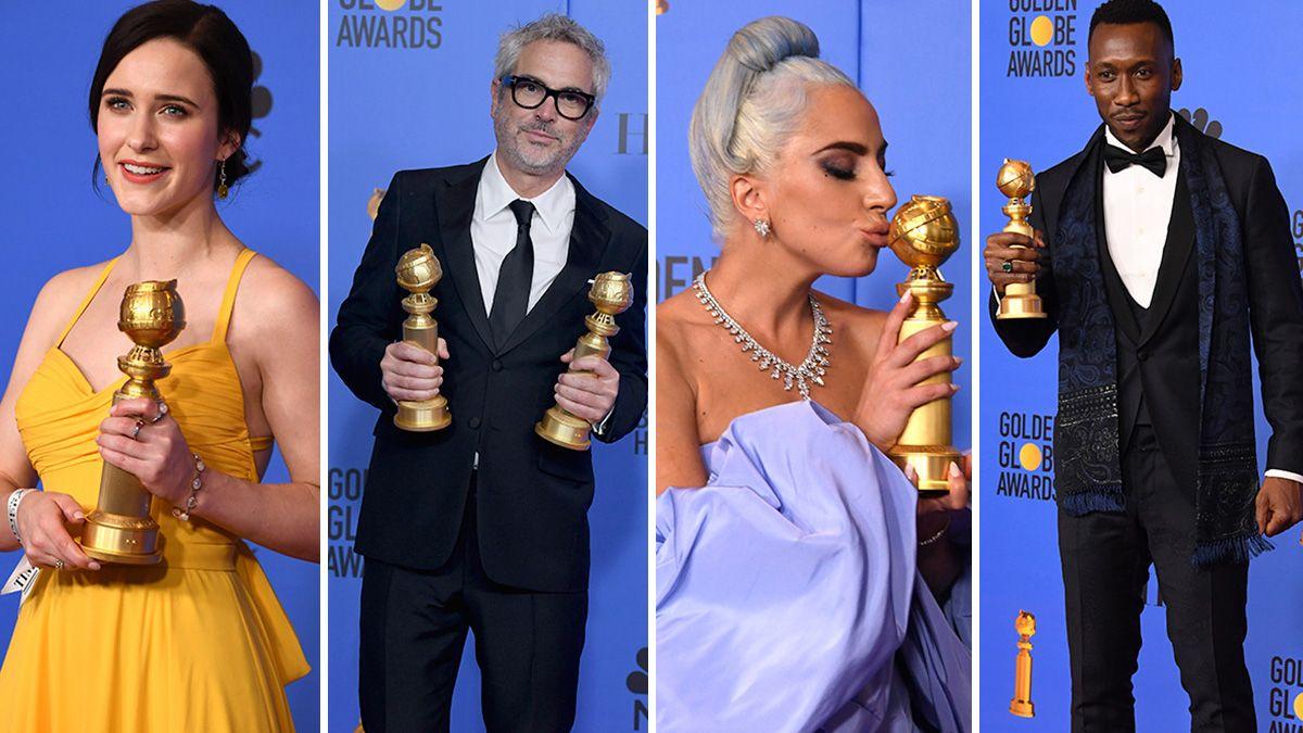 Conoce a los ganadores de los Golden Globes 2019