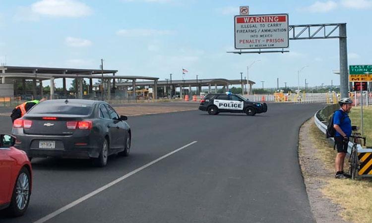 Cierran frontera de Coahuila con Texas por temor a ingreso de migrantes