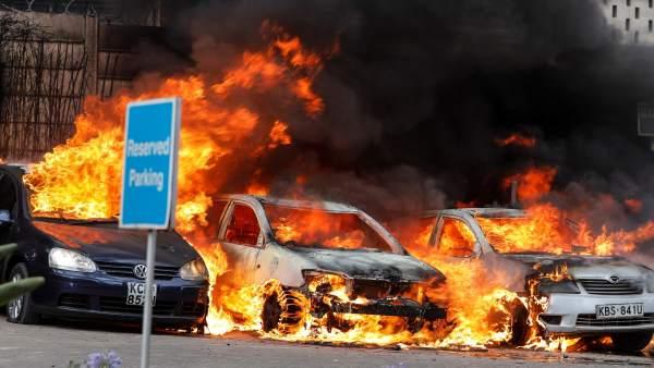 Al menos 15 muertos por un ataque terrorista en un hotel de Nairobi