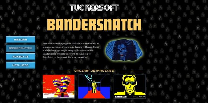 La película Black Mirror Bandersnatch esconde un código QR que permite acceder a sus videojuegos