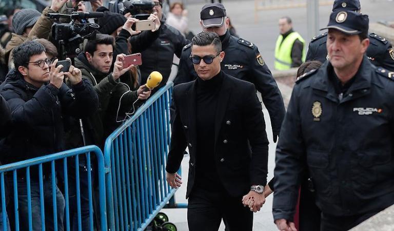 Cristiano Ronaldo acepta un acuerdo de 18,8 millones de euros por evasión fiscal