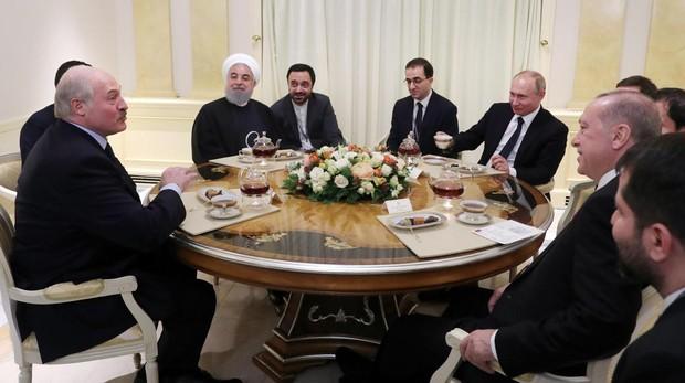 Rusia quiere ocupar el vacío de poder en Siria